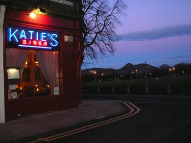Katie's Diner Edinburgh