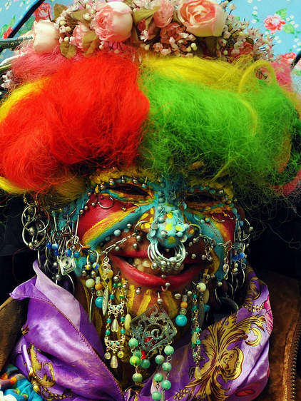 Elaine Davidson Most Pierced Woman in the World