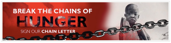 Save the Children Break the Chains of Hunger