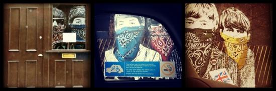 Beatles Street Art London