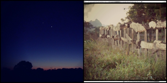 Dawn in Mozambique