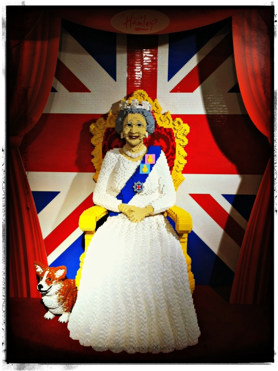 Lego Queen Hamleys London