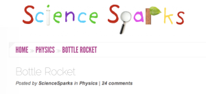 Science Sparks How to Make a Bottle Rocket