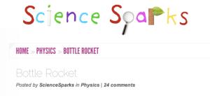 Science Sparks How to Make a Bottle Rocket