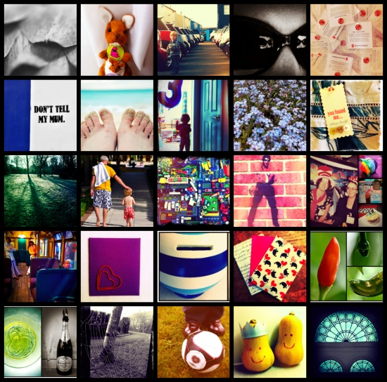 52 week photography project collage