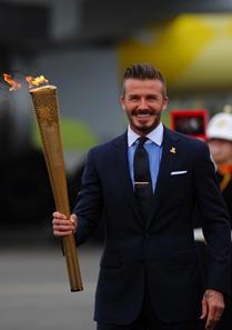 David Beckham global hunger summit