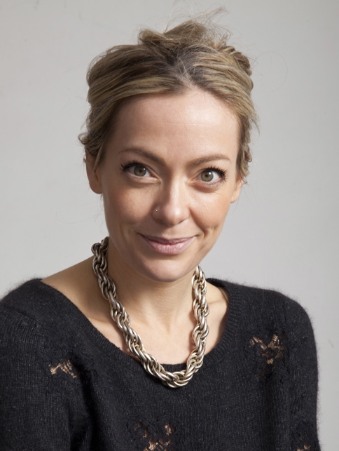 A portrait of Cherry Healey, journalist and television Presenter