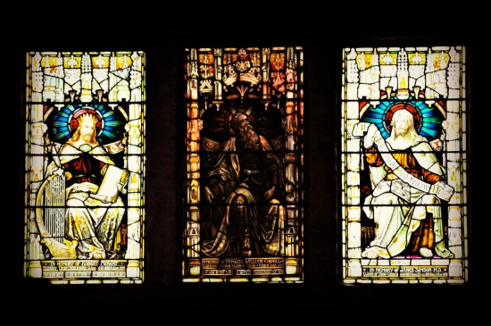 Stained Glass windows Tron Kirk