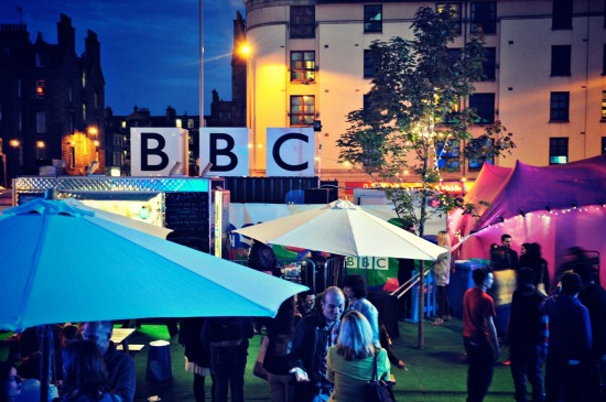 BBC Potterrow Edinburgh Fringe 2012