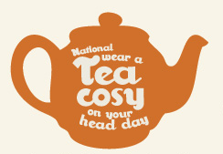 White Stuff National Wear a tea Cosy on Your Head Day