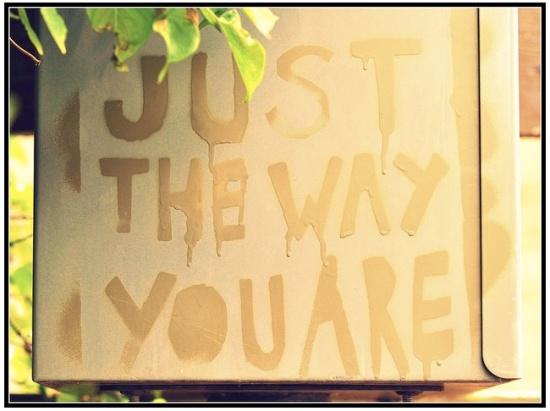 positive street art