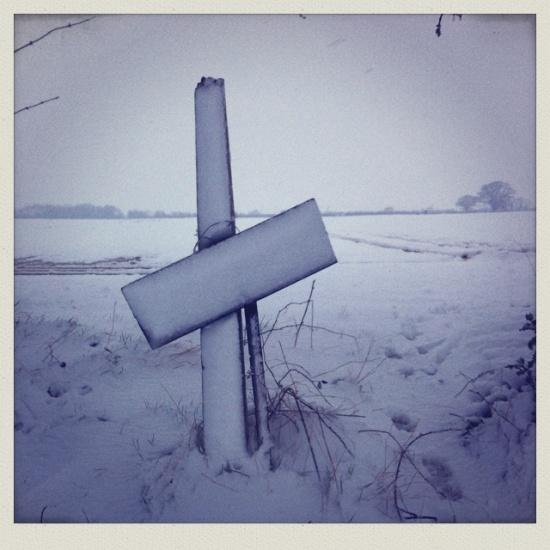 snow in Harpenden Hertfordshire