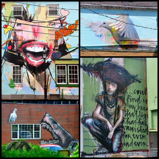 street art Portsmouth New Hampshire