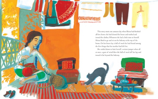 Barefoot Books The Girl With A Brave Heart