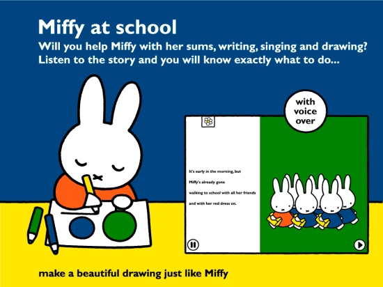 Miffy at School iPad App