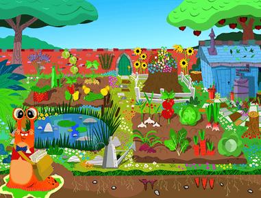 Henri Le Worm kids cooking app