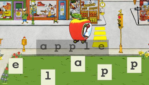 Richard Scarry Words That Go app for children