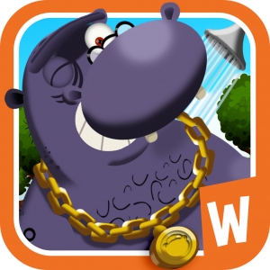 Wombi Hippo Shower Time