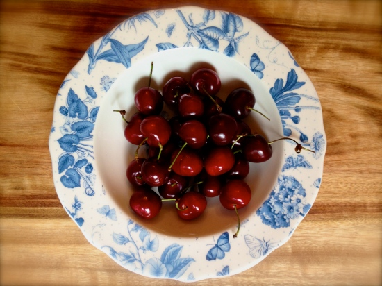 Fresh cherries Tasmania