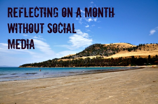 A Month without social media