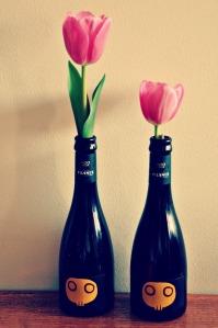 Moo Brew vases
