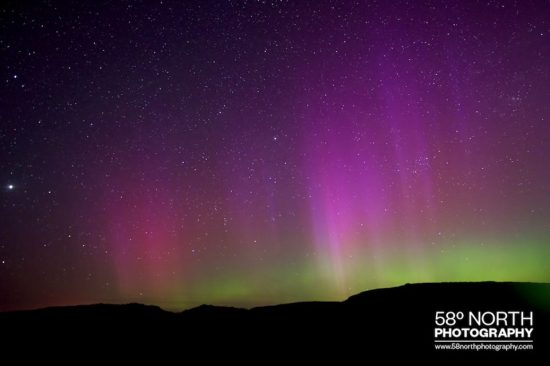 58º North Photography Aurora Isle of Lewis
