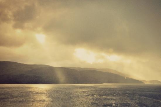 sunshine on isle of harris