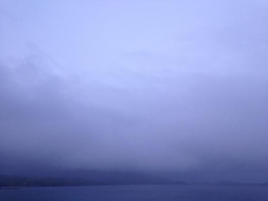 mist on the Isle of Harris