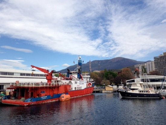 View from MONA ROMA Hobart Tasmania