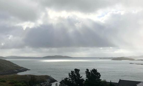 View from Tarbert Isle of Harris