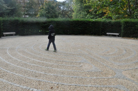 Edinburgh University Labyrinth