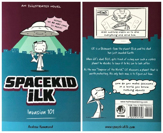 Spacekid iLk book cover