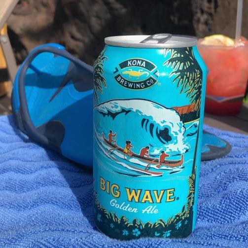 poolside drinks at Koloa Landing Resort, Poipu, Kauai